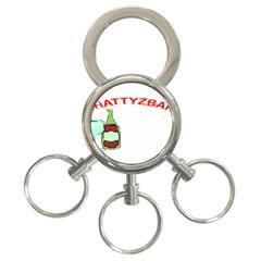 ChattyzBar T-shirt 3-Ring Key Chain