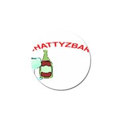 ChattyzBar T-shirt Golf Ball Marker