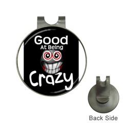 crazy Hat Clip with Golf Ball Marker