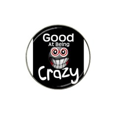 Crazy Golf Ball Marker 4 Pack (for Hat Clip)