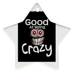 crazy Star Ornament (Two Sides)