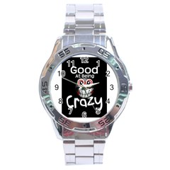 Crazy Stainless Steel Watch