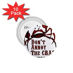 crazy person 1.75  Button (10 pack)