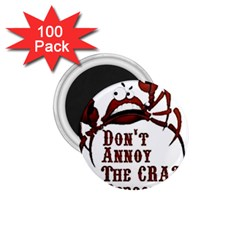 crazy person 1.75  Button Magnet (100 pack)
