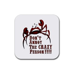Crazy Person Drink Coasters 4 Pack (square)