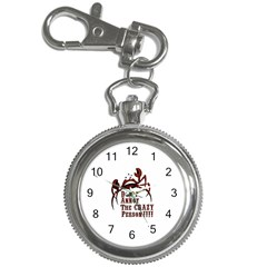 Crazy Person Key Chain Watch