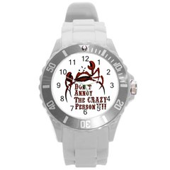 Crazy Person Plastic Sport Watch (large)