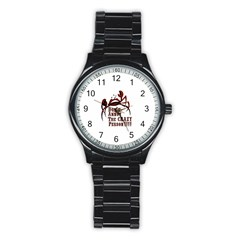 crazy person Sport Metal Watch (Black)