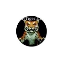 tiger Golf Ball Marker