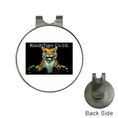 tiger Hat Clip with Golf Ball Marker