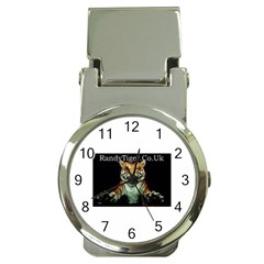 Tiger Money Clip With Watch