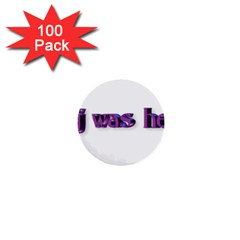 Weewee 1  Mini Button (100 pack)