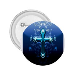 Glossy Blue Cross Live Wp 1 2 S 307x512 2 25  Button