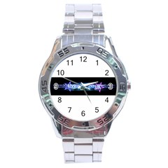Banner2 Stainless Steel Watch