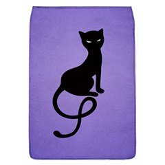 Purple Gracious Evil Black Cat Removable Flap Cover (large)