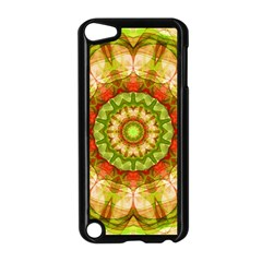 Red Green Apples Mandala Apple iPod Touch 5 Case (Black)
