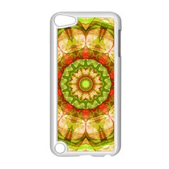 Red Green Apples Mandala Apple iPod Touch 5 Case (White)
