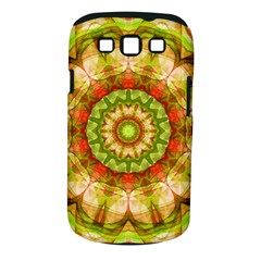 Red Green Apples Mandala Samsung Galaxy S III Classic Hardshell Case (PC+Silicone)