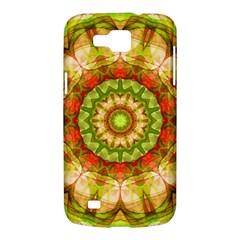 Red Green Apples Mandala Samsung Galaxy Premier I9260 Hardshell Case