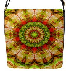 Red Green Apples Mandala Removable Flap Cover (Small)