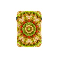 Red Green Apples Mandala Apple Ipad Mini Protective Sleeve