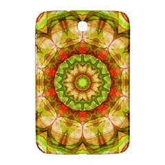Red Green Apples Mandala Samsung Galaxy Note 8 0 N5100 Hardshell Case
