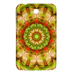 Red Green Apples Mandala Samsung Galaxy Tab 3 (7 ) P3200 Hardshell Case