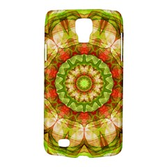Red Green Apples Mandala Samsung Galaxy S4 Active (I9295) Hardshell Case