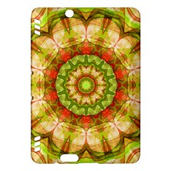 Red Green Apples Mandala Kindle Fire HDX 7  Hardshell Case