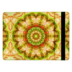 Red Green Apples Mandala Samsung Galaxy Tab Pro 12.2  Flip Case