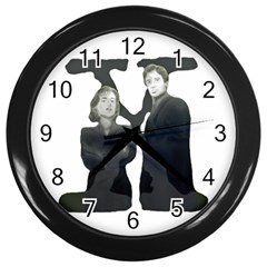 X Wall Clock (Black)