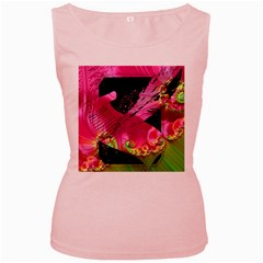Elegant Writer Women s Tank Top (Pink)