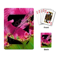 Elegant Writer Playing Cards Single Design