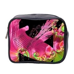 Elegant Writer Mini Travel Toiletry Bag (two Sides)