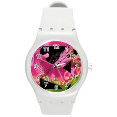 Elegant Writer Plastic Sport Watch (Medium)