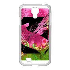 Elegant Writer Samsung Galaxy S4 I9500/ I9505 Case (white)
