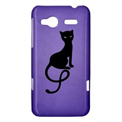 Purple Gracious Evil Black Cat HTC Radar Hardshell Case