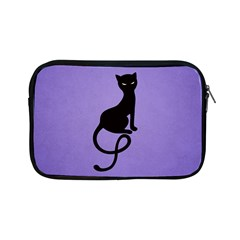 Purple Gracious Evil Black Cat Apple Ipad Mini Zippered Sleeve