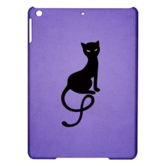 Purple Gracious Evil Black Cat Apple iPad Air Hardshell Case