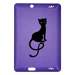 Purple Gracious Evil Black Cat Kindle Fire HD 7  (2nd Gen) Hardshell Case