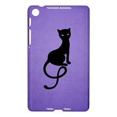 Purple Gracious Evil Black Cat Google Nexus 7 (2013) Hardshell Case