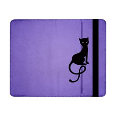 Purple Gracious Evil Black Cat Samsung Galaxy Tab Pro 8.4  Flip Case