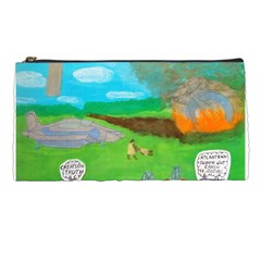 Atlantean Super Jet Crash 11,000 B C  Pencil Case
