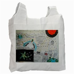 Neutrino Gravity, White Reusable Bag (One Side)