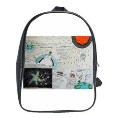 Neutrino Gravity, School Bag (large)