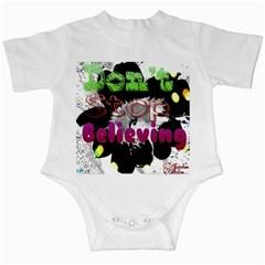 Don t Stop Believing Infant Bodysuit