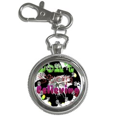 Don t Stop Believing Key Chain Watch