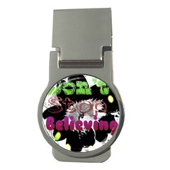 Don t Stop Believing Money Clip (Round)