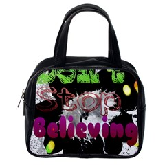 Don t Stop Believing Classic Handbag (one Side)