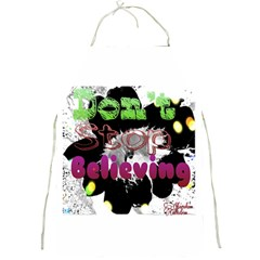 Don t Stop Believing Apron